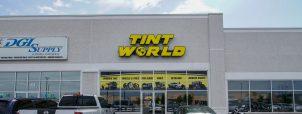 Tint World Front Display
