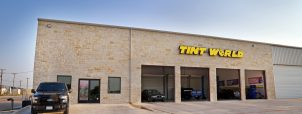 Outside of Tint World Installation Bays