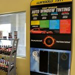 Window Tinting Product Display