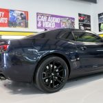 Black Car Rear
