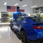 Blue Car Rear