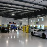 Tint World Garage with Pearl Floor