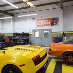 Yellow and Orange Car High End