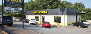 Tint World Parking Lot