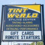 Tint World Sign