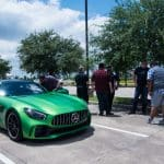 Katy, TX Grand Opening Green Benz