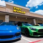 Green and Blue Benz