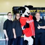 Katy, TX Grand Opening Owners and Mascot